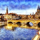Bridge over Metz by Julien Menet