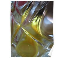 Beer Glass and Lighter Poster