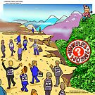 Where's Hosni? By Londons Times Cartoons by Rick  London
