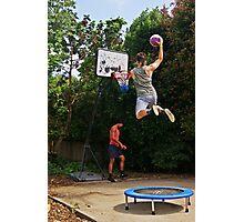Slam-dunk Photographic Print