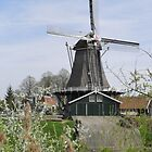 Dutch Windmill by ZanHanhof