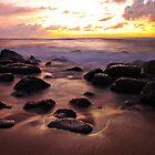 Ocean boulders by Mikhail Lenitsyn