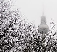 Winter Fernsehturm, Berlin by David Crausby
