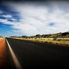 Road between Karratha and Port Hedland by Stuart  Hardy