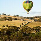 Hot air ballooning  - Northam Western Australia by Stuart  Hardy