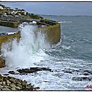 &quot; Mousehole gets a pounding&quot; by Malcolm Chant