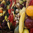 Mixed plastic fruit by Stuart  Hardy