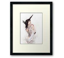 Barbed Beauty Framed Print