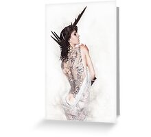 Barbed Beauty Greeting Card