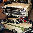 1963 Lotus Cortina, Team Ford  by Woodie