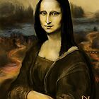 MY DIGITAL FREEHAND MONA ! by razar1