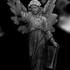 Angel in black an white by thermosoflask