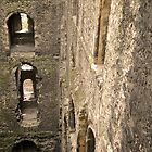 Rochester Castle - Looking In by Lisa Hafey