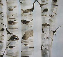 Whispering trees by ArtbyChaune