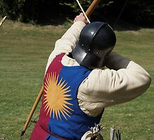 English Archer wearing the livery of Edward IV by Steve Churchill