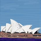 Opera House on iPad by Annie Wise