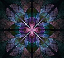 Metallic Blossom by Jaclyn Hughes