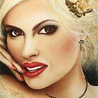 'Christie'  Portrait of a Classy Lady by mozzyhales