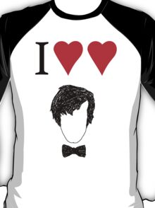 I ♥ ♥ The Doctor T-Shirt