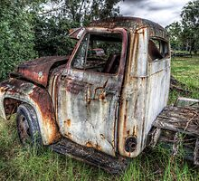 Old Milk Truck HDR by clydeessex