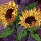 Sunflower Love by Marie Luise  Strohmenger