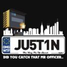 JUSTIN NUMBERPLATE DESIGN FUNNY by viperbarratt