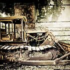Digger left to decay by Ciaran  Duignan