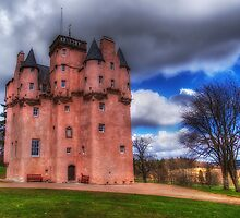 Craigievar Castle by JMHPhotography