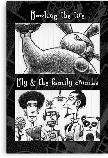 Bowling Tire/Family Crumbs by Mike Cressy