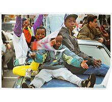 Toronto Blue Jays Glory Day - After Winning Baseball World Championship 1992 Poster