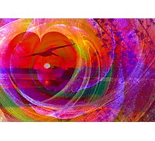 Love gives you wings Photographic Print
