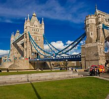 Tower Bridge: London, UK. by DonDavisUK