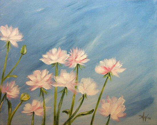 Dainty in Pink by Arie van der Wijst