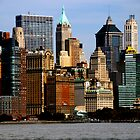 NYC on the river by infiniteartfoto