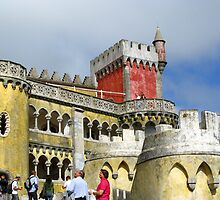 Pena National Palace - Portugal by Marilyn Harris