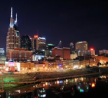 Nashville Skyline by xPressiveImages