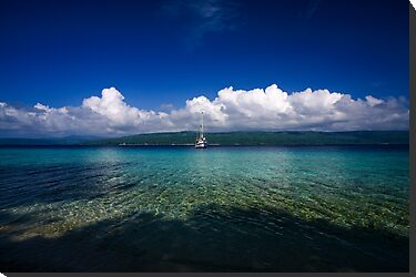 Havannah Bay, Vanuatu by Chris Westinghouse