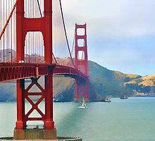 Golden Gate Bridge, San Francisco by janice fife