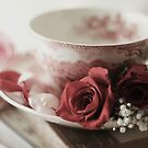 A Morning with Tea and Roses by KatWolfe