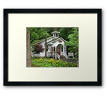 Robert F. Thomas Chapel-Dollywood Pigeon Forge Framed Print