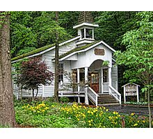 Robert F. Thomas Chapel-Dollywood Pigeon Forge Photographic Print