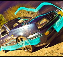 MK3 Golf VR6 Light Painting by Adam Kennedy