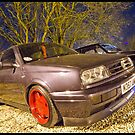VW MK3 Golf On Borbet A Alloys by Adam Kennedy