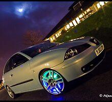 Seat Ibiza TDI On Cupra R Wheels by Adam Kennedy