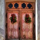 Wooden Doors of God (San Miguel Spanish Mission, California) by Brendon Perkins
