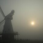 Mill In The Mist by Dave Godden