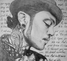 fan art; travis mccoy by oliviawilson