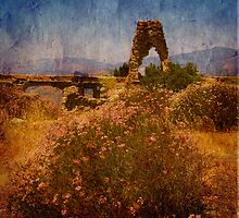 Knapps Castle in Textures by Renee D. Miranda