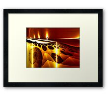 I Hold a Flame for You Framed Print