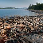 Rocky Shore by Joe Jennelle